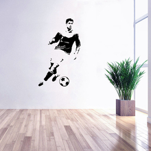 Buy decal wall cristiano ronaldo and get free shipping on aliexpress stizzy wall decal cristiano ronaldo wall sticker for kid room cool soccer player poster sport game voltagebd Choice Image