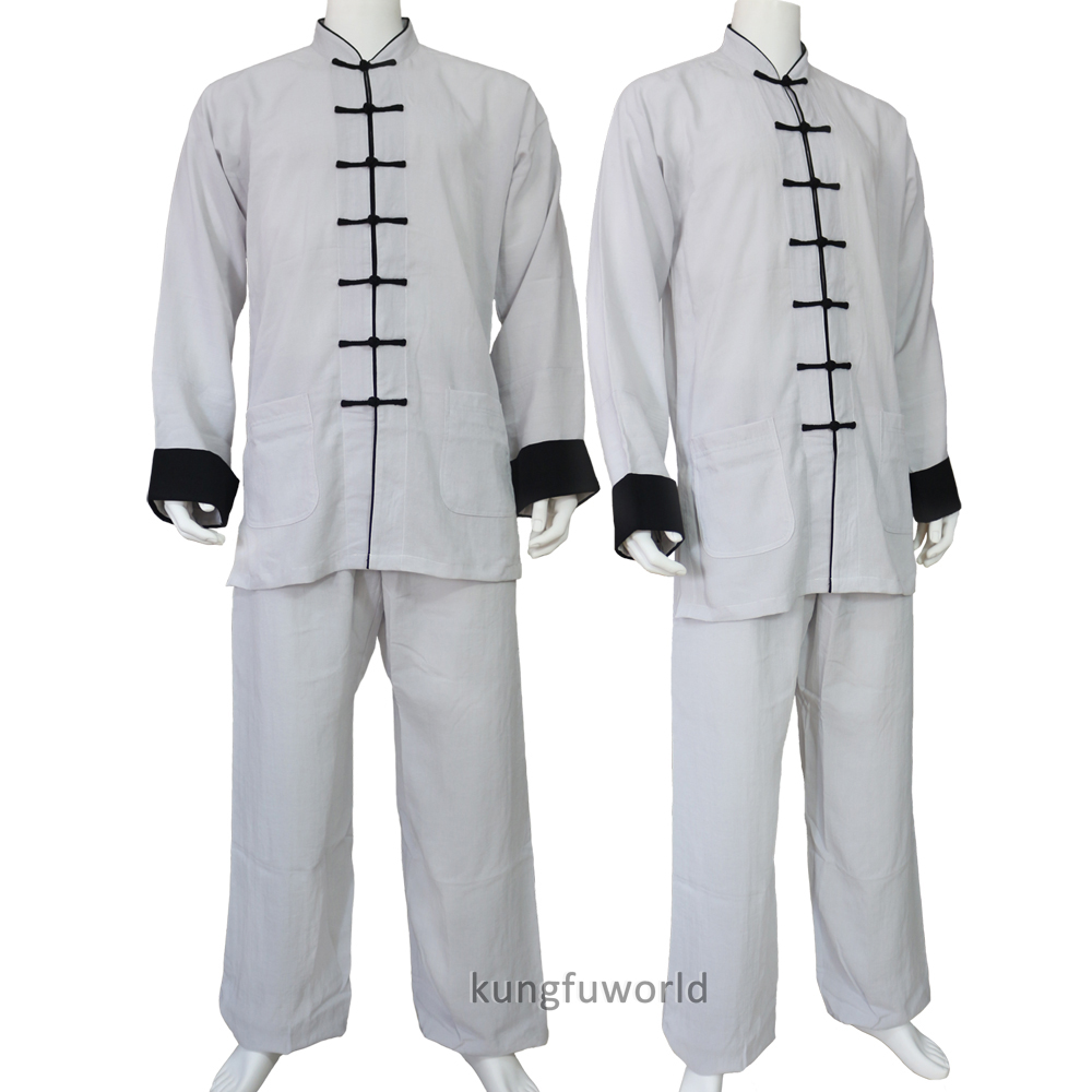 все цены на 24 Colors Linen Tai chi Uniform Wushu Martial arts Kung fu Nanquan Wing Chun Wudang Changquan Suit онлайн