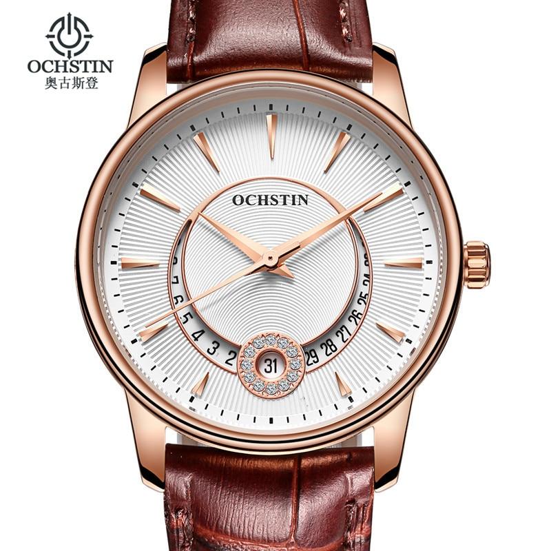 әйелдер сағаттары Fashion Brand OCHSTIN quartz-watch Әйелдер тағатын сағаттар сағаттары киюге көйлек ханымдарға арналған киім сөмкелер Business montre femme