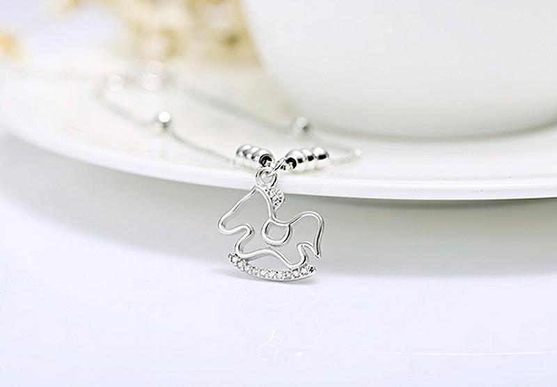 silver charm anklet or bracelet