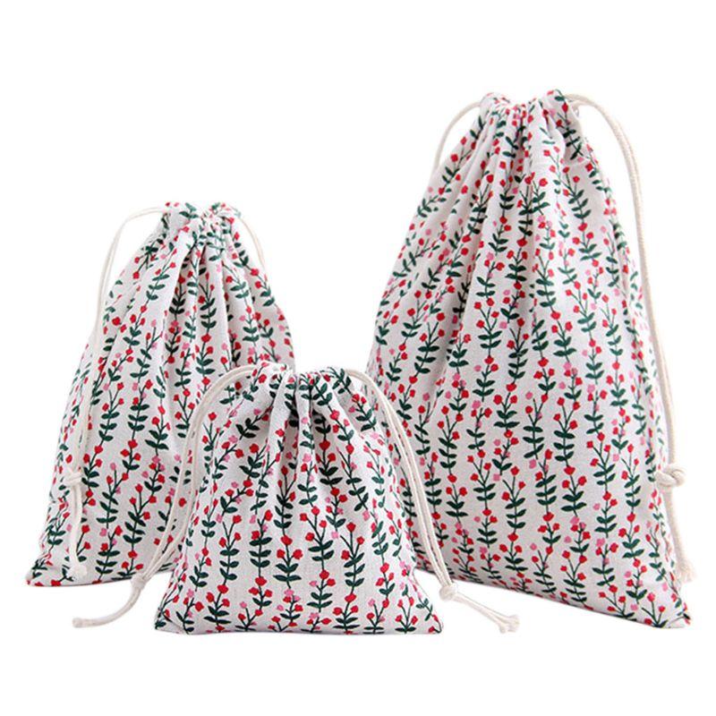 Portable Printing Drawstring Bag Beam Port Storage Shopping Travel Handbag Xmas Gift Bags  Portable Printing Drawstring Bag Beam Port Storage Shopping Travel Handbag Xmas Gift Bags