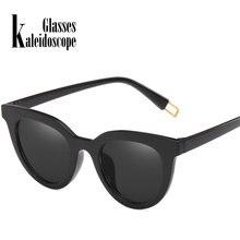 c9b57d9ad89fe Caleidoscópio Óculos Moda Sexy Gato Olho Óculos De Sol Mulheres UV400 Óculos  de Sol Das Senhoras Vermelho Preto Óculos de Lente .