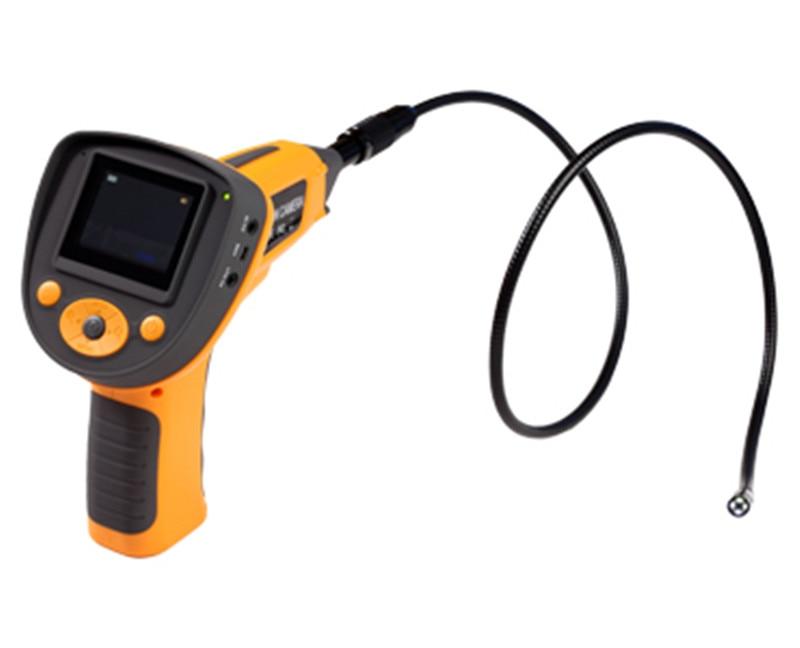2.4 Inch 8.5mm 5X Zoom rotated 180 degree Portable AV Handheld Endoscope Camera