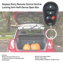 Keyless Entry Remote Control Central Locking Anti-theft Device Open Box Directional Light Window