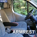 Universal Armlehne PU Für 2018 Traktor Lkw Betreiber Bau Fahrzeug Einstellbare Fahrer Sitz Hand Schiene Halter