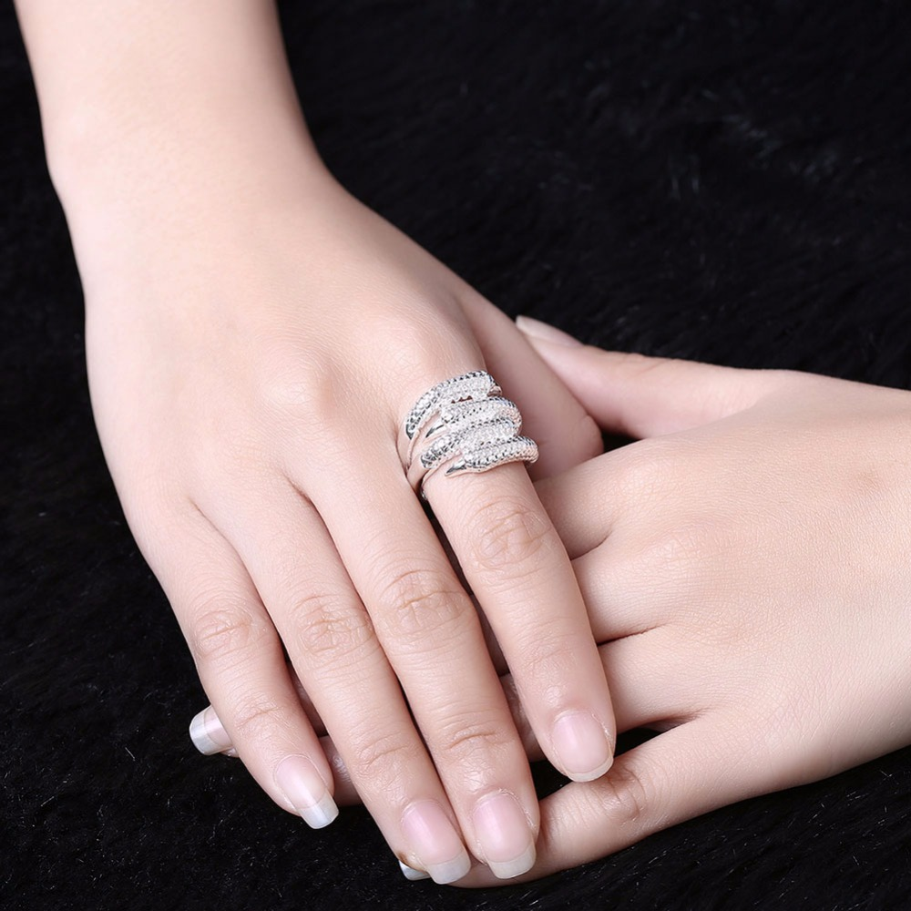 Girls Unique Rings Hand Accessories Halloween Gifts Women 925 ...