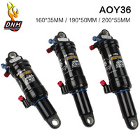 Mountain bike rear shock absorber soft tail XC/DH damping adjustable air suspension Rear gallbladder soft tailed frame