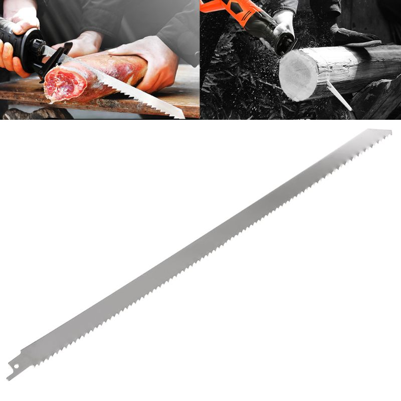 Stainless Steel 400mm Reciprocating Power Saw Blade Effective For Cutting Wood Woodworking Tool Accessories Qiang