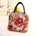 Portable Insulated Women Lunch Bag Thermal Food Picnic Casual Thermal Insulated Tote Cool Bag Cooler Box Handbag Pouch For Work