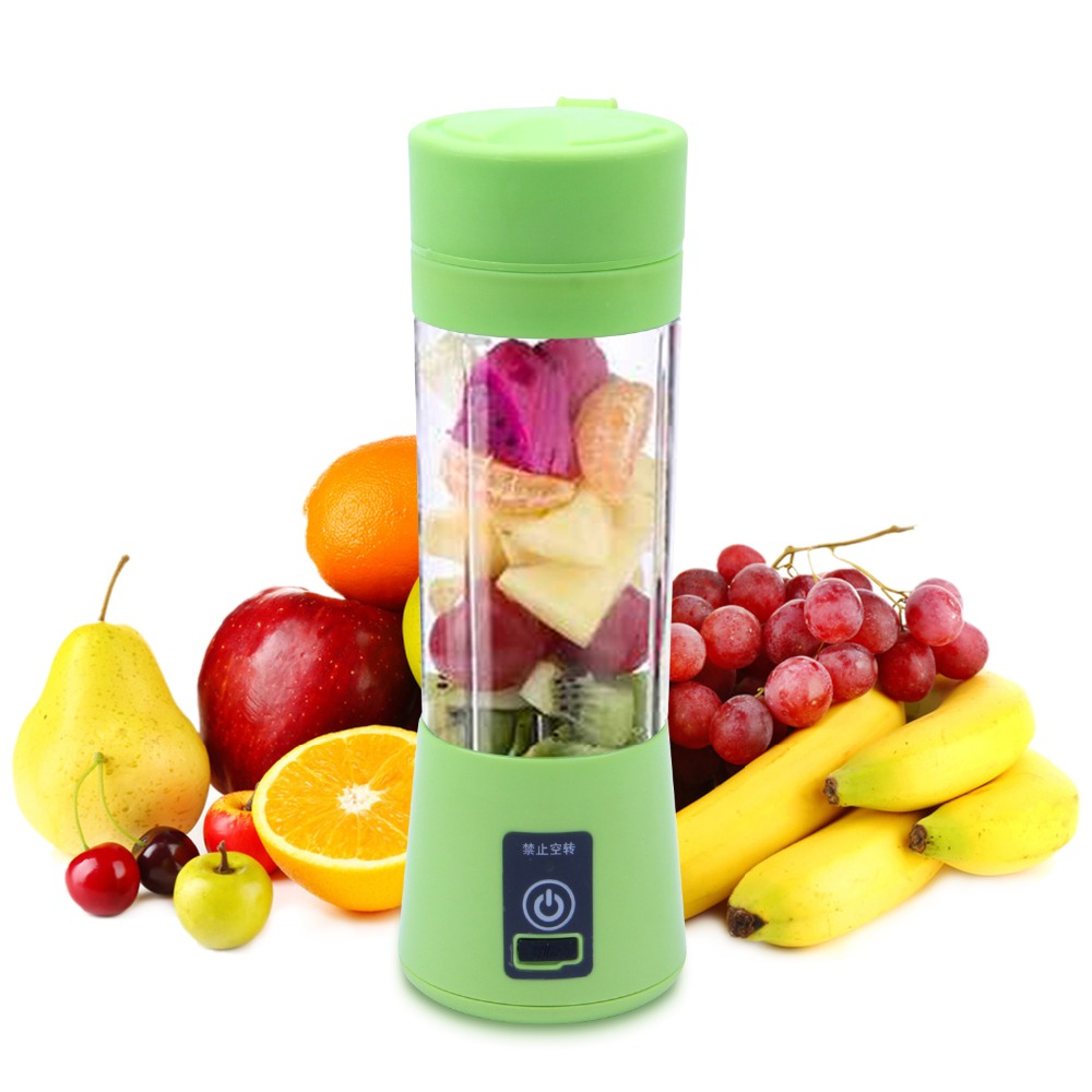 380ML Blender USB Charging Mode Portable Small Juicer Extractor Household Whisk Fruits Mixer Juice Machine Smoothie Maker 1