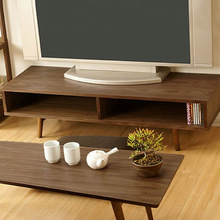 TV Stands Living Room Furniture Home Furniture Japanese style simple 1.2 /1.5 m small apartment wooden TV cabinet wholesale 2018