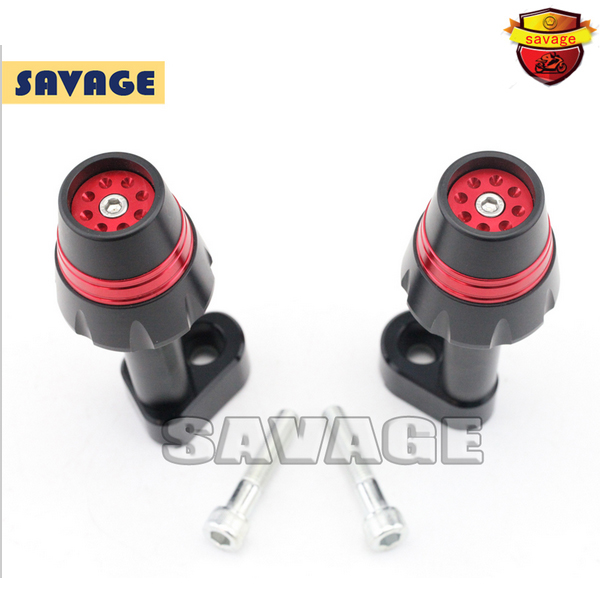 New Design Motorcycle Frame Sliders Crash Protector Falling Protection For YAMAHA YZF-R25 YZF-R3 14-15 Red