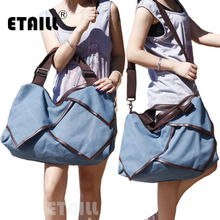 Super Extra Vintage Canvas Large Capacity Shoulder Bags For Women Leisure Tote Handbags Designers Brand