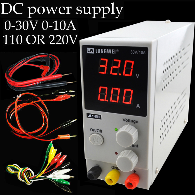 30v 10a K3010D Mini Switching Regulated Adjustable DC Power Supply SMPS Single Channel 30V 5A Variable