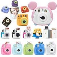 Fujifilm Instax Mini 9 cámara de película Fuji Mini 7s Tsum... Kumamon secuaz instantáneas Instax Mini cámaras Instax SP-2 impresora
