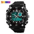 SKMEI Brand Men's Quartz Digital Watch Men Sports Watches Relogio Masculino Relojes LED Military Waterproof Wristwatches