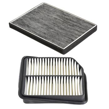 Filtr powietrza silnika samochodowego filtr powietrza kabinowego dla Suzuki grand vitara 2005-2015 13780-65J00 95861-64J00 tanie i dobre opinie MANATEE 95861-64J00 13780-65J00 HTK-1111 HTT-8019C 261mm 20mm China 194mm filter paper 0 2kg