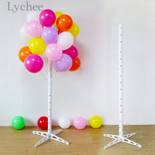 Lychee Stable Balloon Tree Display Stand Plastic Balloon Holder Birthday Wedding Festival Party Decoration Supplies