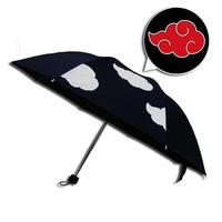 Creative Cartoon Japanese Umbrella Personality Anime Single Folding Umbrella Color Changing Sun Shade Windproof Anime Fans