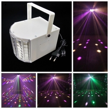 Mini RGB LED USB MP3 MUSIC DJ Club Pub Disco Party  Light and remote Stage Effect Light with USB Disk Remote Control