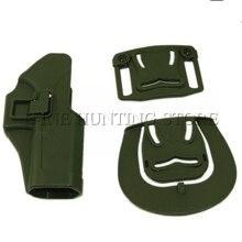 Принадлежности для охоты, оружие кобура GL 17 19 22 31 SERPA RH тактический пояс с кобурой W/два весла Пистолет Чехол для GL 17 19