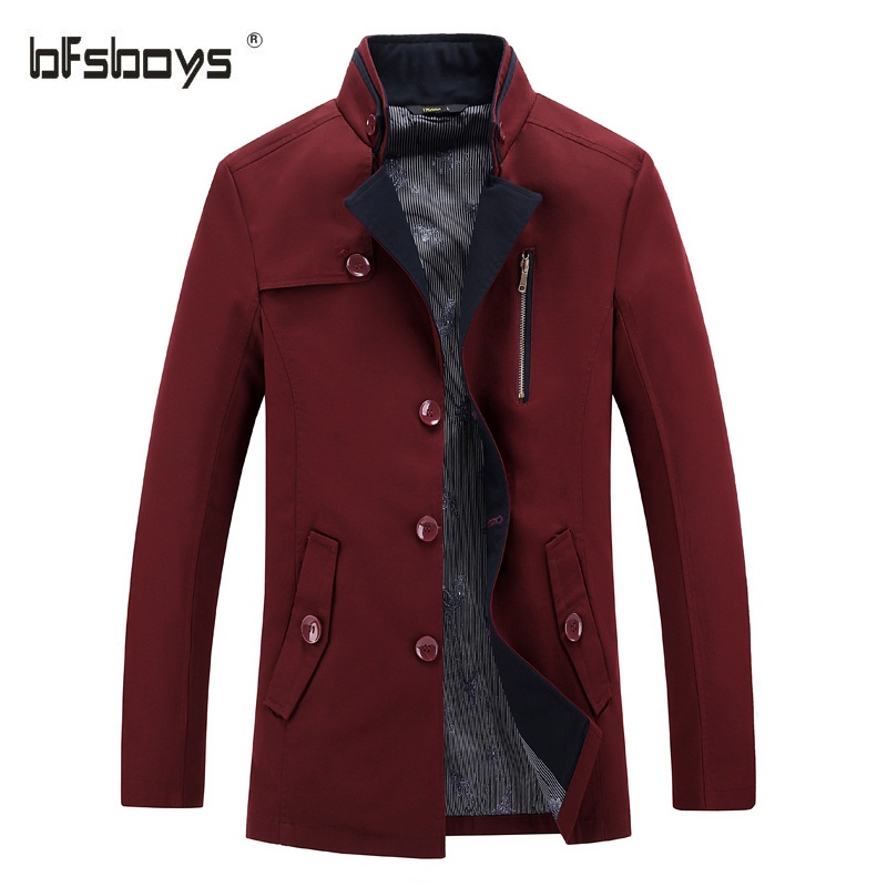 Online Buy Wholesale mens red trench coat from China mens red