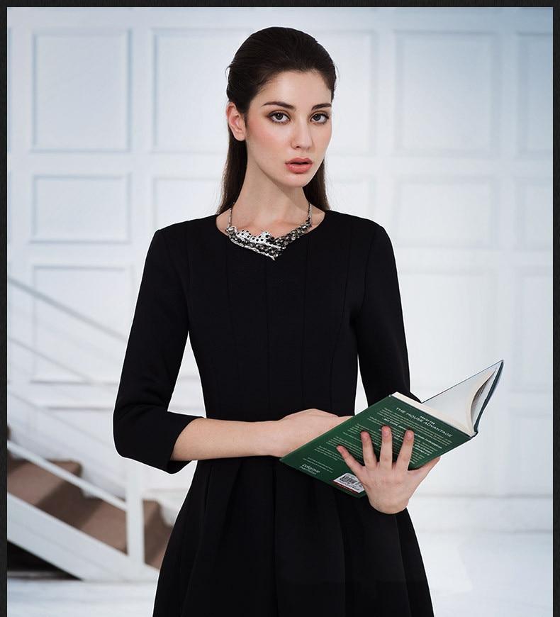 Winter Black Dresses 2015