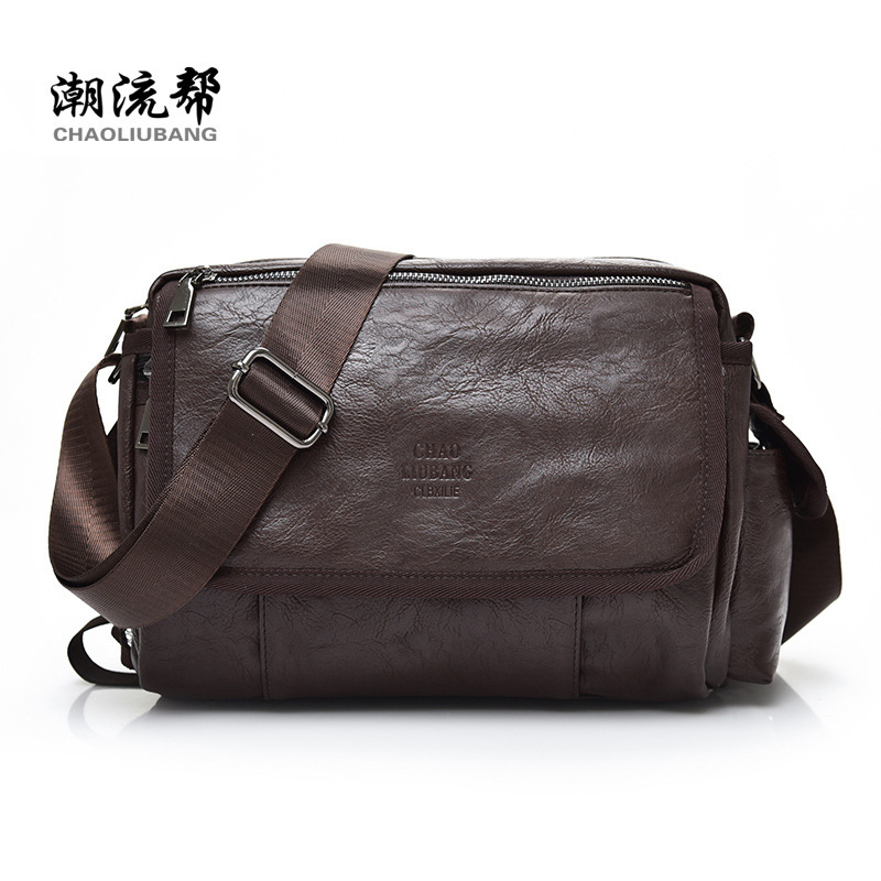 Fashion Men Bags Men Casual Leather Messenger Bag Men Leather Vintage Man Bags Small Shoulder Handbags High Quality limited buying mini casual bags multifunction leather messenger bag men s fashion pocket brown brand of small bags high quality