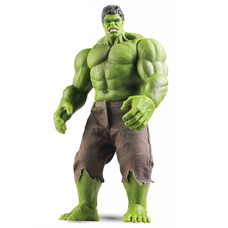 StZhou Avengers Incredible Hulk Iron Man Hulk Buster Age Of Ultron Hulkbuster 42CM PVC Toys Action Figure Hulk Smash 2017 new avengers super hero iron man hulk toys with led light pvc action figure model toys kids halloween gift