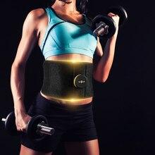 Умный тренажер для похудения, для тренажерного зала, для коррекции фигуры, для фитнеса, для брюшного массажа, для дома, практичный, для стимуляции мышц, тонизирующий пояс, электрический