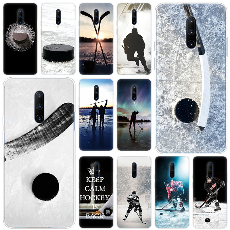 Hot Ice Hockey Soft Silicone Fashion Transparent Case For font b OnePlus b font font b