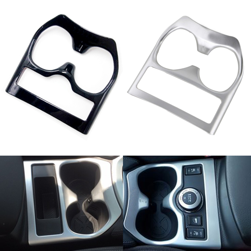 ABS Water Cup Holder Drink Cup Holder Frame Trim Cover Sticker Styling for Nissan X-trail T32 X trail Rogue 2014 2015 2016 2017 цена