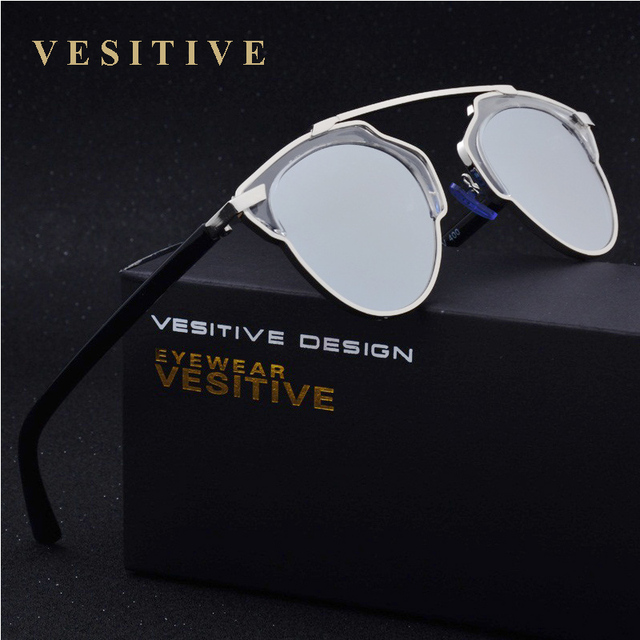 VESITIVE Polarized Sunglasses Men Women Brand Designer Butterfly Alloy frame Specialties Polaroid lens Sun Glasses Oculos UV400