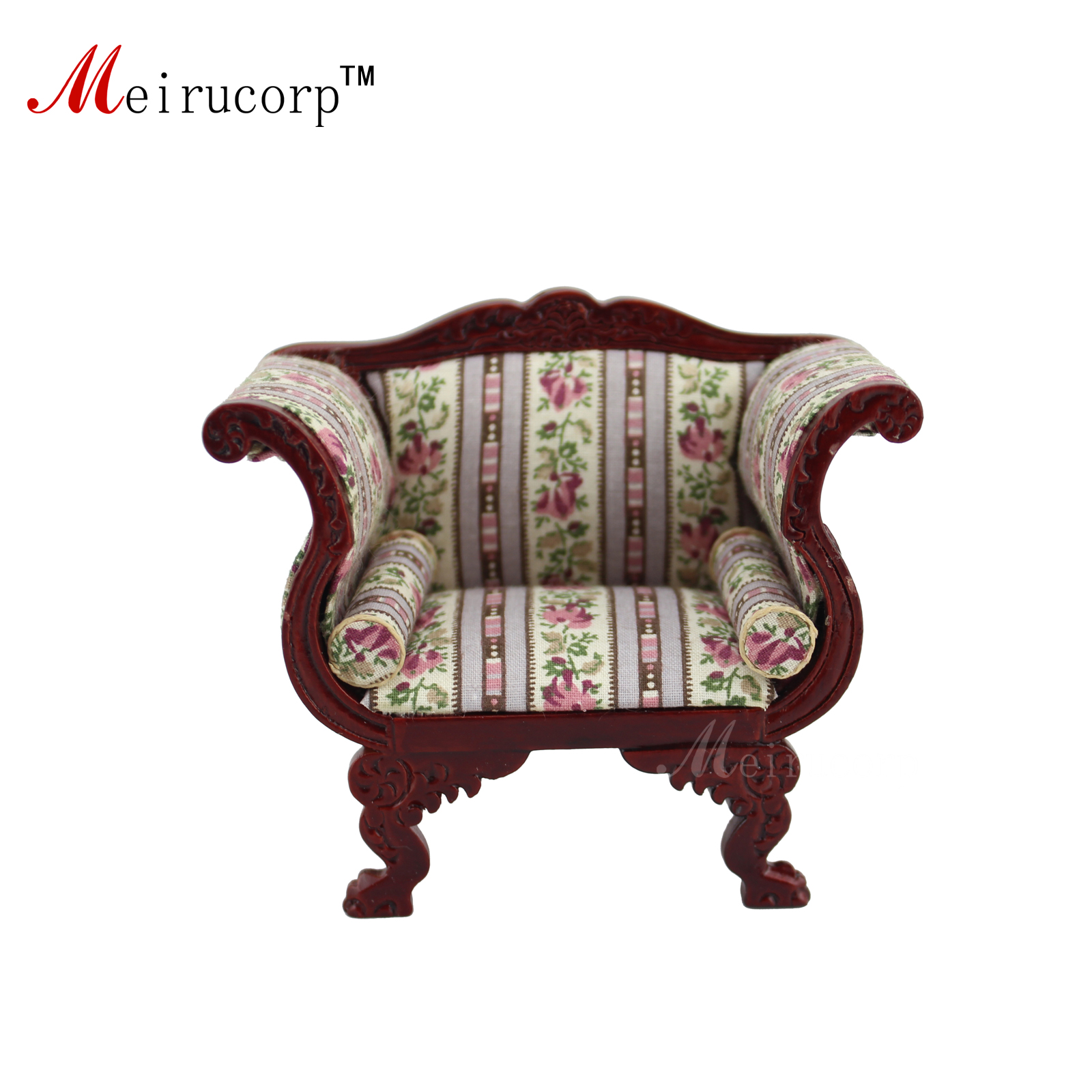 Dollhouse 1:12 échelle Miniature meubles Luxueux Salon Chaise