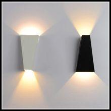10W Mordern Led Wall Light Dual-Head Geometry Lamp Sconces for Hall Bedroom corridor lamp bathroom reading