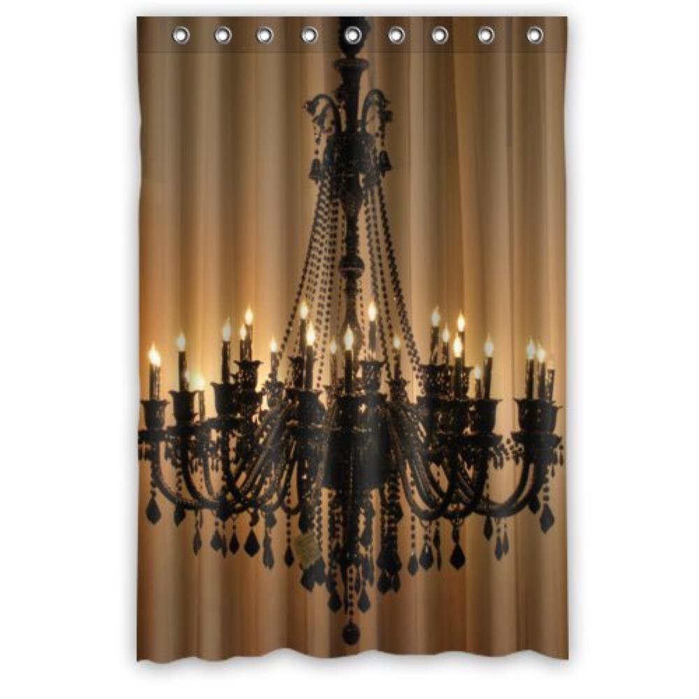 Arredo Bagno Tenda Doccia.Vintage Design Nuovo Stile Illuminato Lampadari Classici Poliestere