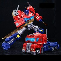 Transformation LgendaryToys Optimus OP column with a wealth of weapon accessories LT03 column PVC Action Figure Model Doll Toy