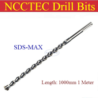 [SDS MAX 1000mm lunghezza] 14 16 18 20 22 25 28 30 32 35 38 40 42 45mm in lega di carburo parete corone trapano | 1 metro Martello hole saw