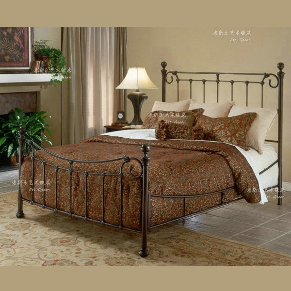 cheap direct metal single iron beds double steel wooden. Black Bedroom Furniture Sets. Home Design Ideas
