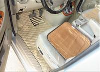 JIOYNG Car Accessories Styling Custom Foot Mats 3D Luxury Leather Car Floor Mats Fits For KIA Grand Carnival 7 Seats 2004 2014