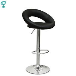 94499 Barneo N-84 جلدية المطبخ الإفطار بار البراز قطب كرسي طويل الساق الأسود اللون شحن مجاني في روسيا