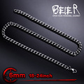 Stainless Steel Man's High Quality Fashion Wave Chain For Man \Necklace Chain BN1030