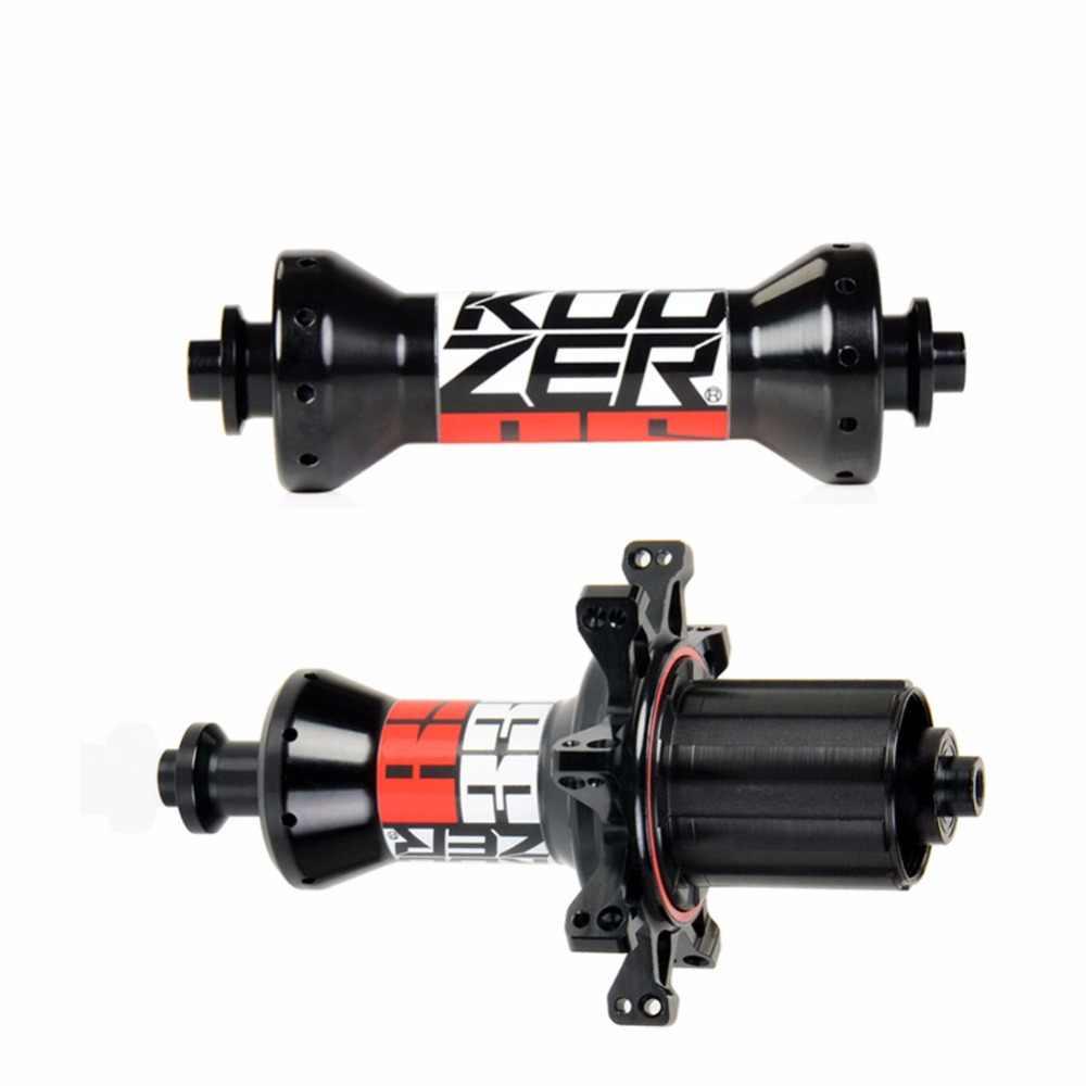بصوت عال جدا KOOZER RS330 محور الدراجة الطريق 100/130 ملليمتر الطريق دراجة محاور 20/24 الثقوب الخلفية و الجبهة حامل لمحور العجلات الدراجة 2:1