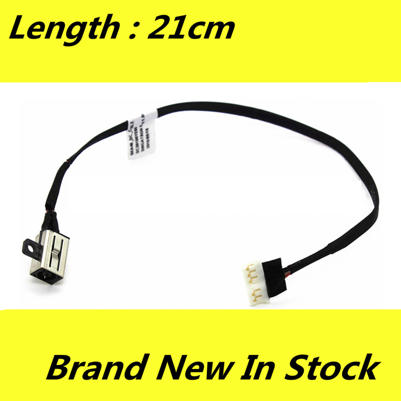 Brand New Laptop For Dell Insprion 7000 Series 7560 7460 7442 7272 7772 DC Jack Cable Charging Power Socket with Wire Harness