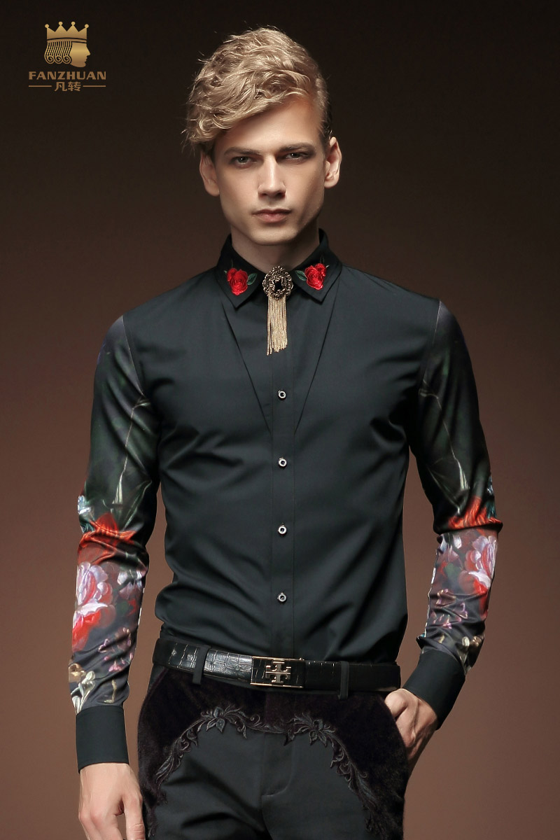 Gratis fragt Ny mode afslappet mænds personlighed mandlige koreanske - Herretøj - Foto 6