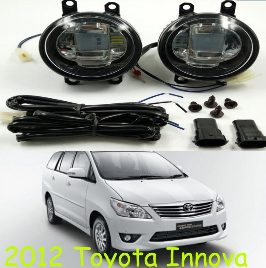 Innova light,Matrix fog light,2pcs,LED,MYVI daytime light,Free ship! Previa fog lamp,eiz headlight,Hilux VIGO lamp 2013 2016 innova daytime light free