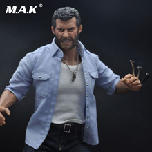 Burning Soul 1/6 Angry Wolverine Logan Figure Model 12'' Figure doll Model Toys Body+Head Sculpt+ Clothing set 1 6 scale angry logan head sculpt wolverine hugh jackman 1 6 head toy for 12 action figure show his teeth model