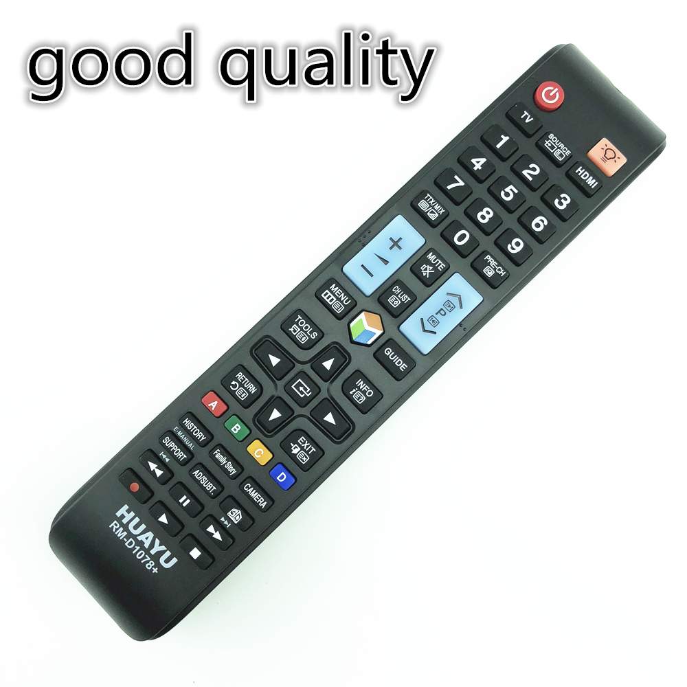 remote control suitable for samsung tv AA59-00570A 3D SMART D1078+   AA59-00579A AA59-00621A used remote control for samsung smart tv aa59 00761a fit aa59 00760a aa59 00766a aa59 00831a