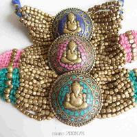 BB 356 Indian 2012 New Fashion Elephant Bracelet Ganesha Amulets Knotted Golden Bracelets Mix Order