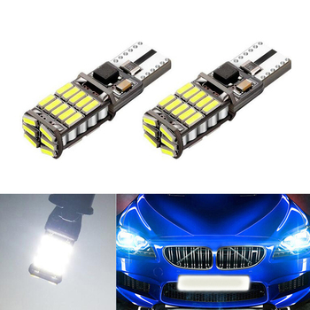2x Canbus Car LED T10 W5W 26LED Parking Light For BMW E46 E39 E91 E92 E93 E28 E61 F11 E63 E64 E84 E83 F25 E70 E53 E71 E60 image